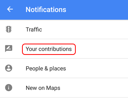 Turn off creepy Google Maps notification - step 2