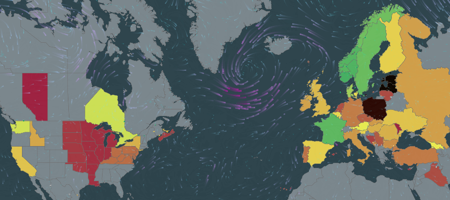 Real-time global electricity and carbon map
