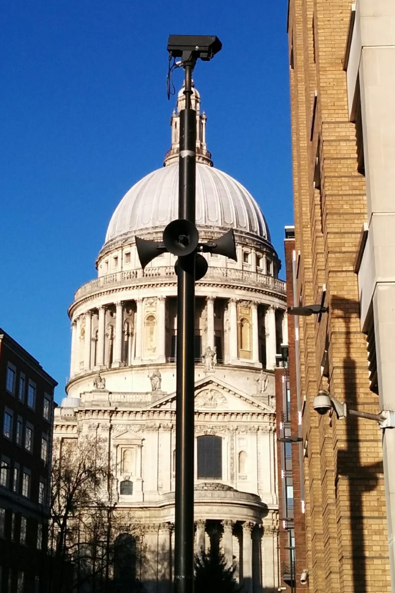 St Paul's Orwellian Shouting Post