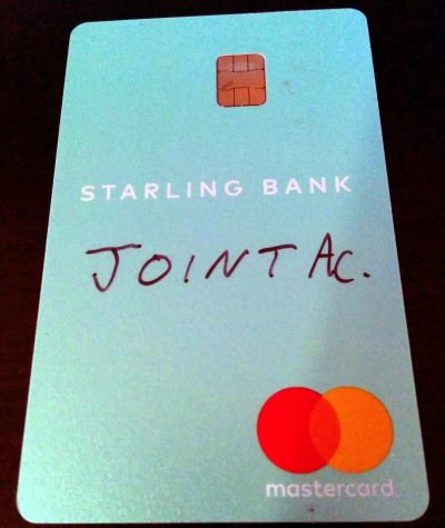 Starling Bank Card Sharpie
