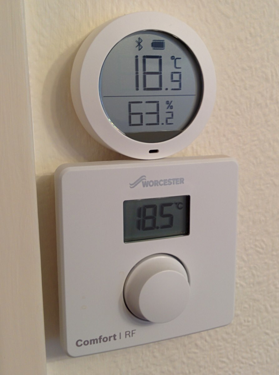 thermostat comparing values