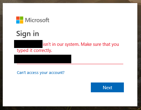 MS unsubscribe FAIL