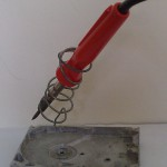 Soldering Iron Holder - With Iron
