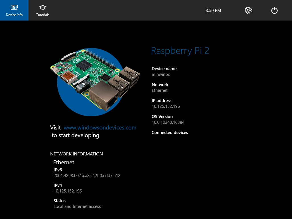 Windows 10 IoT Core Public Release for Raspberry Pi 2 - Install and