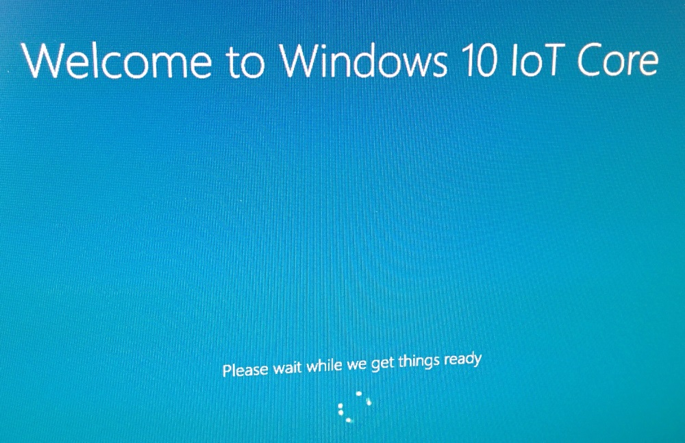 Welcome to Windows 10 IoT Core