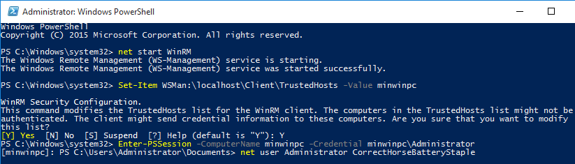 PowerShell Password Change