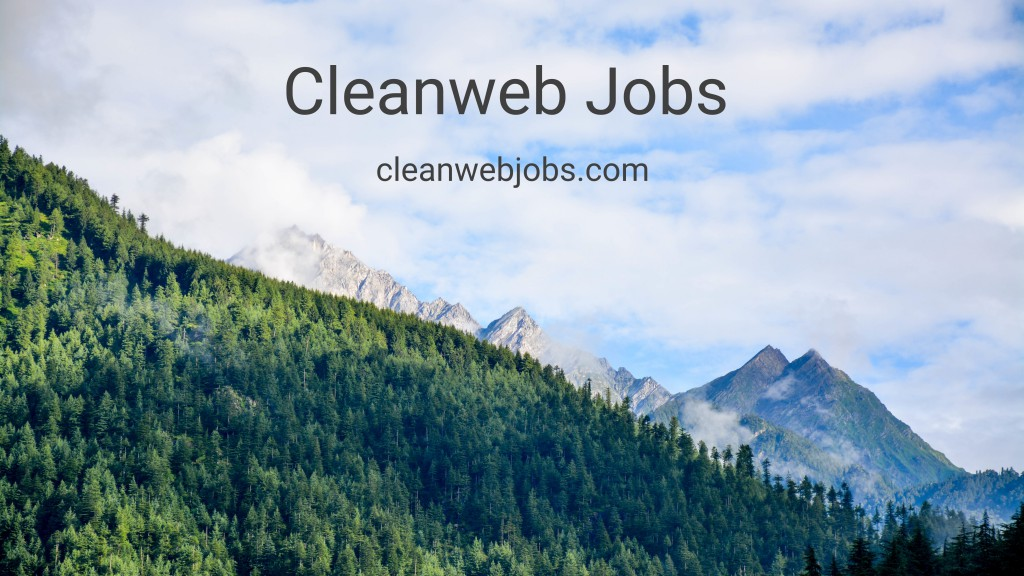Cleanweb Jobs