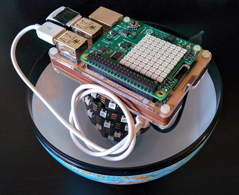 Pi Glowbe - Raspberry Pi Wake Light · unop